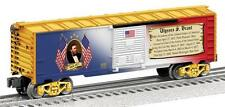 Lionel Ulysses S Grant Boxcar # 6-82334 MADE IN USA PRESIDENTIAL BOXCAR