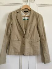 Tommy Hilfiger Ladies Linen Blend Jacket Blazer US Size 6