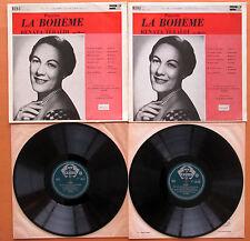 ACL 121-22 Puccini La Boheme Renata Tebaldi Alberto Erede 2xLP Decca Mono EX/EX