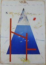 "JAMES COIGNARD "" Composition"" SIGNED + HAND NUMBERED ETCHING COLLAGE FRENCH"
