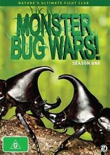 Monster Bug Wars! : Season 1 (DVD, 2013, 2-Disc Set) - New - Region 4