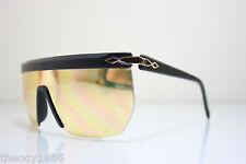 Catherine Deneuve Gold Plated 24K Vintage Mask Monolens sunglasses CD-011