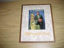 1992 St Bonaventure Bonnies Basketball Media Guide