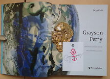 Grayson Perry,Jacky Klein (Paperback,2013) SIGNED Bookplate Thames & Hudson Ltd