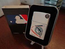 FLORIDA MARLINS ZIPPO LIGHTER MINT IN BOX RETIRED DESIGN MLB