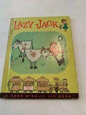 1962 Lazy Jack A Rand McNally Elf Book