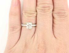 1.50 Carat Cushion Cut Diamond Engagement Ring GIA Certified