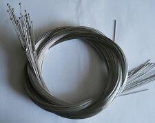 lot de 100 cable de derailleur vtt vtc 2 metre neuf