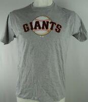 San Francisco Giants MLB Men's Short Sleeve Large Graphic T-shirt in Gray