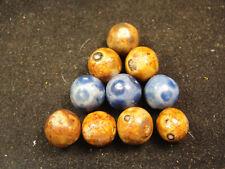 handmade German Bennington marbles    J19a