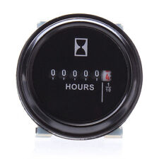 12V 24V 36V Waterproof Hour Meter for Marine ATV Motorcycle Boat Engine EW