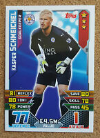 TOPPS Match Attax 2015 2016 football cards Base MOM Leicester City - VARIOUS