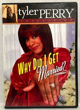 Why Did I Get Married? (Tyler Perry DVD, 2006) Cheryl Pepsii Riley, LaVan Davis