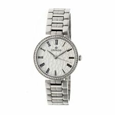 Empress Catherine Automatic Hammered Dial Silver Bracelet Women's Watch EM1901