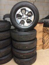 Jeep Wrangler Wheels. Genuine Jeep parts. Set of 5 alloys with Bridgestone tyres