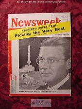 NEWSWEEK Magazine December 19 1960 Dec 12/19/60 ROBERT McNAMARA +++
