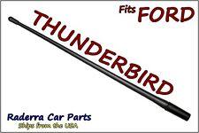 "FITS: 1983-1997 Ford Thunderbird - 13"" SHORT Custom Flexible Rubber Antenna Mast"