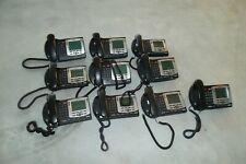 LOT-10 Nortel IP Phone 2004 PoE Desktop w/Speakers Headset 8x24 LCD LAN NTDU92