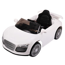 12V Ride on Car Kids RC Car Remote Control Electric Power Wheels W/MP3 White