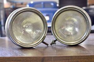 1920-1923 Maxwell Headlight Headlamp Pair