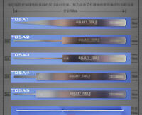 GALAXY Tools 0.8mm Stainless Steel Ultrathin Model File Stick Hobby Craft Tool