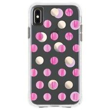 Case-Mate Water Paper for Apple iPhone XS Max - Pink Dot