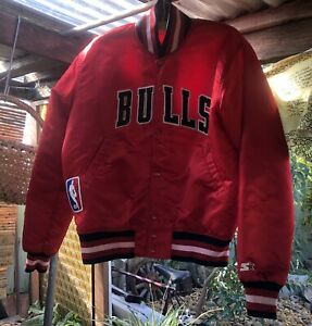 Chicago Bulls - NBA - Authentic Jacket - Medium - Made In the U.S.A.