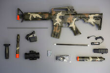 AEG Semi-Full Auto M83 M4 M16 Airsoft Electric Assault Rifle Camo Color