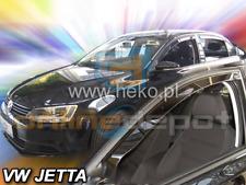 Windabweiser VW JETTA Stufenheck 4-tür 2011-heute 2tlg HEKO dunkel Regenabweiser