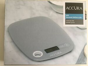 Accura electronic kitchen scale 5kg grey