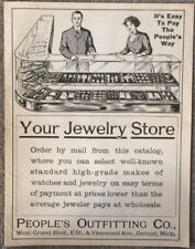 Jewelry Store Circa 1910 Mail Order Catalog