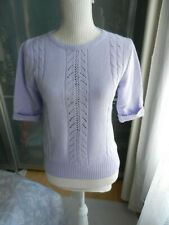 Papaya Lilac Knit Top size 10