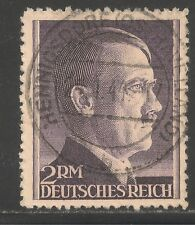 Germany #525a (A116) VF USED - 1942 2m Adolf Hitler