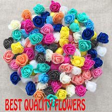 30 mm Foam Rose Flower Roses Craft Decorative Craft Flowers Scrapbooking new