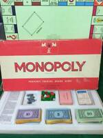 Vintage 'Red Box Monopoly' Spares - Select which you want from drop down menu