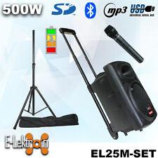 Elektron EL25M Mobile PA Sound System Battery