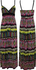V-Neck Long Tribal Dresses for Women