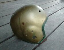 Vintage MacGregor Goldsmith Football Helmet 1940s Leather
