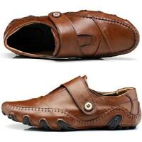 Mens Driving Moccasin Boat Loafers Moccasin Slip On Gents Casual Leather Shoes