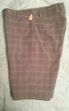 "New C9 Champion Mens Stretch Flex Golf Shorts W 30 Ins 10"" DuoDry Wick NWT Plaid"