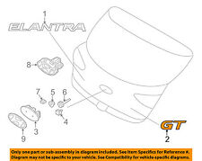 HYUNDAI OEM Elantra GT Liftgate Tailgate Hatch-Emblem Badge Nameplate 86314A5000
