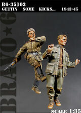 BRAVO-6 35103 GETTIN' SOME KICKS 1943-45 1/35 RESIN FIG.