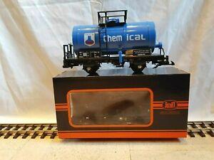 Spur G - Train, Tankwagen, blau, Günstigvar. neu - optional mit Edelstahlrädern