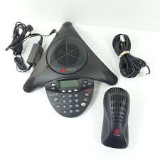 Avaya Polycom 2490 Conference Phone 2301 16375 601 With Interface Module