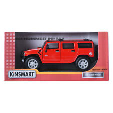 Kinsmart 1:32 2008 HUMMER H2 SUV Red Display Mini Car Miniature Car