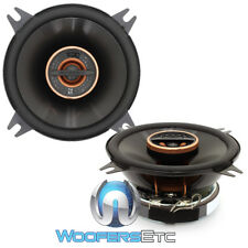 "INFINITY REF-4022CFX 4"" 70W RMS REFERENCE COAXIAL CAR SPEAKERS TEXTILE TWEETERS"