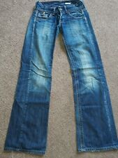 "REPLAY JANICE BOOTCUT FADED DARK BLUE JEANS W25"" L34"""