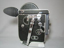 BOLEX REX-1 MOVIE CAMERA, PROFESSIONALLY SERVICED TESTED READY TO FILM! BEAUTY!