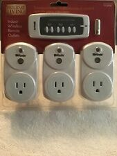 Remote Control - 3 Wireless Receivers and 1 Transmitter and Battery New In Pack