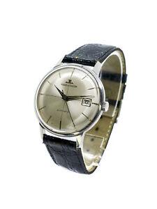 Jaeger-LeCoultre  Automatik mit Datum in Chronometer Qualität Stahl 50-60's